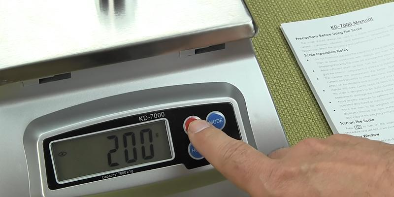 Detailed review of My Weigh KD-7000 Digital Stainless-Steel Food Scale