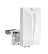 1 BY ONE L-210UK-0002 1byone Indoor/Outdoor TV Antenna, Digital TV Aerial for HDTV/DVB-T Receiver, VHF