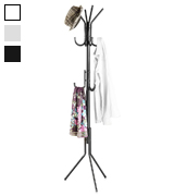 LANGRIA 3 Tier Free Standing Coat and Hat Rack