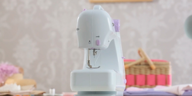 Review of Anself TCJ7548333574836DP Overlock Electric Sewing Machine