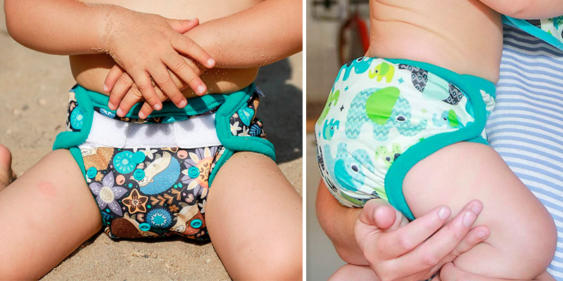 Review of Petit Lulu Hook & Loop Cloth Nappy Cover