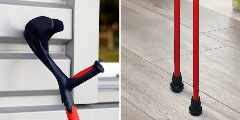 Review of HMS Vilgo Non-Slip Adjustable Colourful Crutches