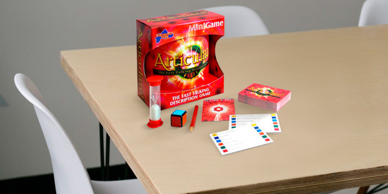 Review of Drumond Park Articulate Mini Family Board Game