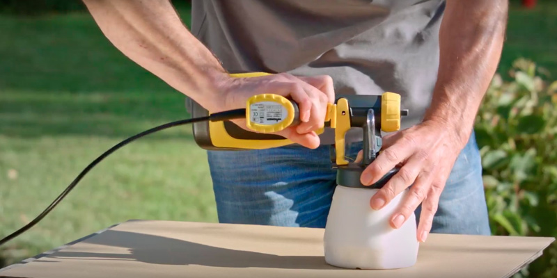 Detailed review of Wagner W100 Wood & Metal Electric Paint Sprayer
