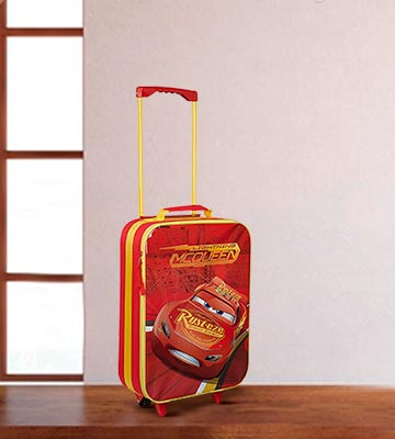Review of Disney Avengers Neon Kids Wheeled Trolley Case