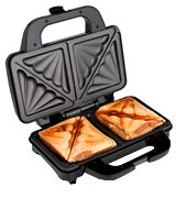 Global Gourmet 900W Sandwich Toaster/Toastie Maker