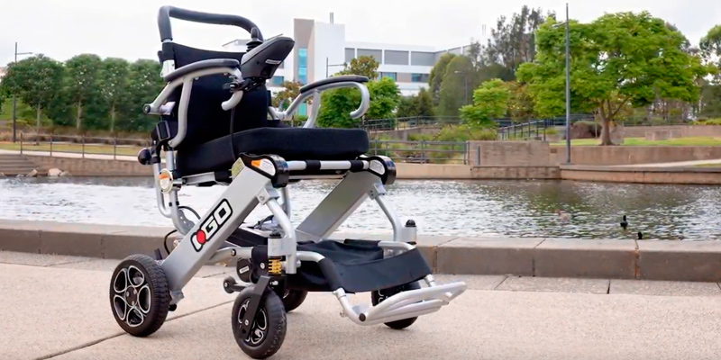 Review of Pride Mobility i-Go Folding Portable Powerchair