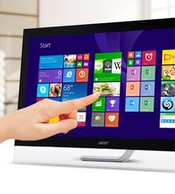 Review of Acer T272HL Touch Screen Widescreen Monitor
