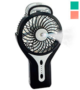 Intsun Mini Handheld USB Misting Fan Rechargeable Portable