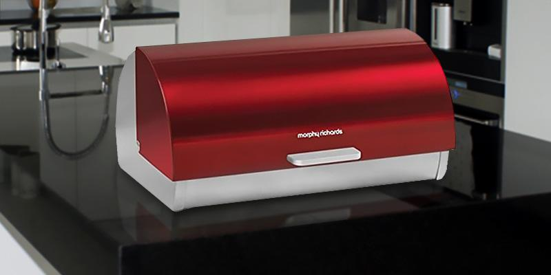 Review of Morphy Richards Roll Top Bread Bin
