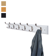 DOKEHOM DKH0116NWM Wooden Wall Mounted Coat Rack