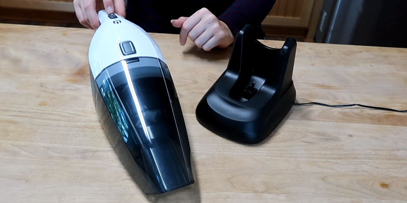 Review of Holife HLHM036AB Handheld Cordless Cleaner