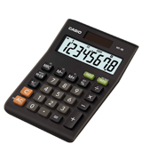 Casio (MS-8B) Standard Function Desktop Calculator