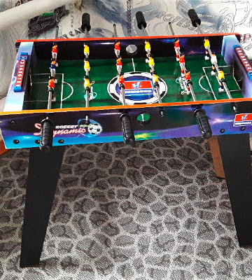 Review of Guaranteed4Less AGP1541 Indoor Arcade Kids Football Gaming Table