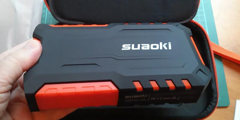 Review of Suaoki G7 Plus Jump Starter with Air Compressor