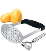 TedGem Stainless Steel Potato Masher