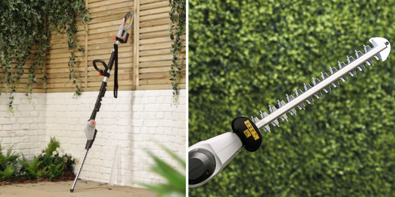 Review of VonHaus Telescopic Extension Hand Held Pole Hedge Trimmer 600W with Adjustable Head