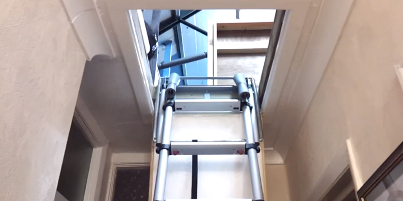 Review of Telesteps 60617 Telescopic Mini Loft Ladder
