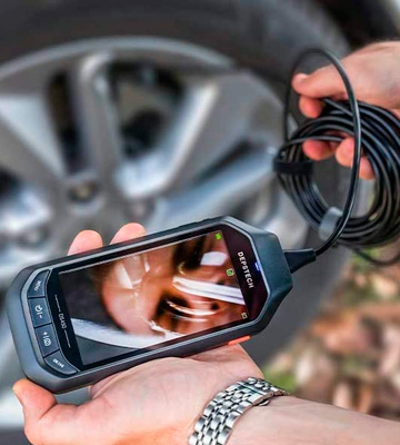Review of DEPSTECH (DS450) Inspection Camera with 5M Borescope Camera (1944P IPS Display, 3300 mAh)