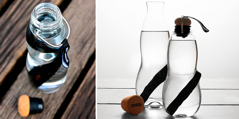 Review of BLACK+BLUM Eau Good Water Bottle with Charcoal Filter