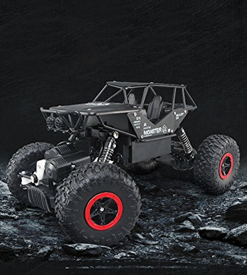 Review of SZJJX Rock Crawler Monster Remote Control Racing Car