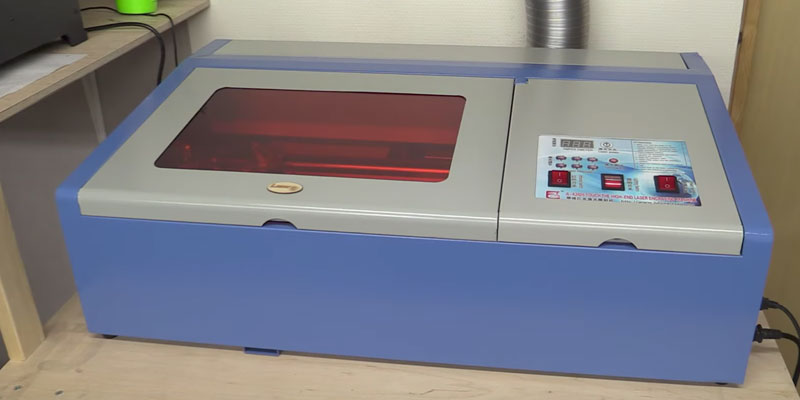 Review of Ridgeyard 40W CO2 Laser Engraving Machine