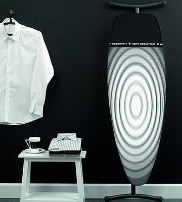 Review of Brabantia Ironing Board with Iron Parking Zone
