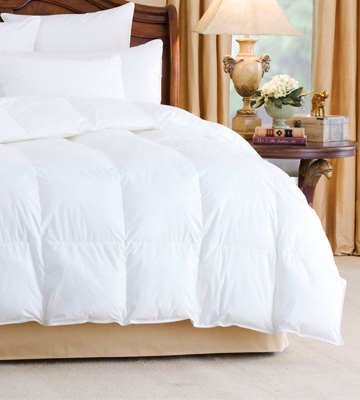 Review of Homescapes Super King Size 13.5 Tog Luxury White Goose Feather & Down Duvet