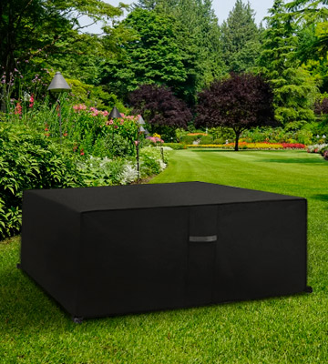 Review of Dokon Heavy Duty Rip Proof 600D Oxford Garden Furniture Cover with Air Vent