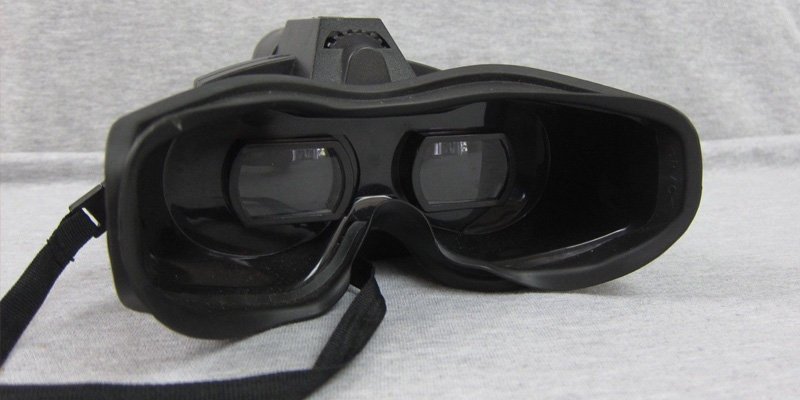 Smart Bargains Spy Net Night Vision Goggles in the use
