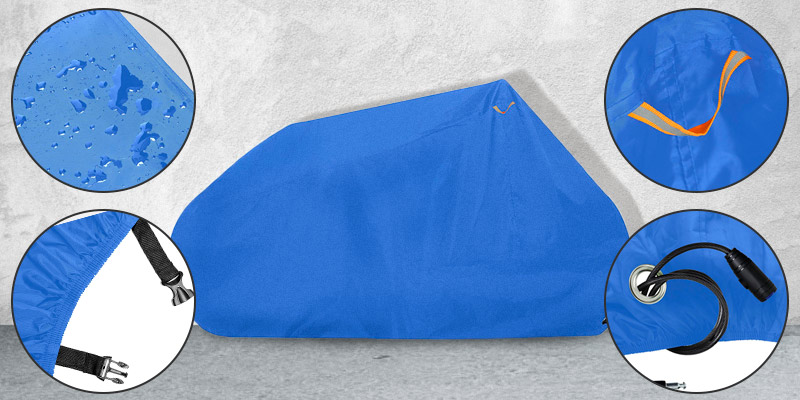 Review of Goose Waterproof Oxford Fabric Premium Grade Lockable Bike Cover