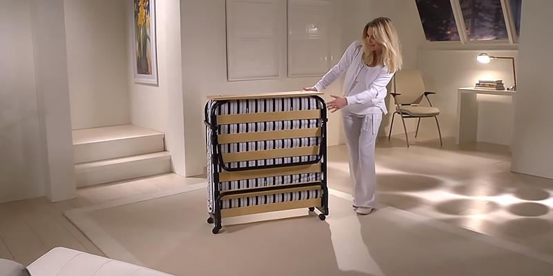 Jay-Be Venus Folding Guest Bed with Dual Airflow Mattress in the use