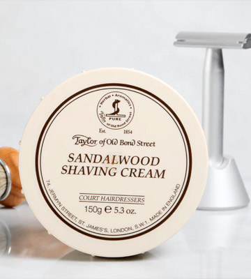 Review of Taylor of Old Bond Street Sandalwood Shaving Cream