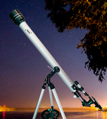 Review of Seben 900-60 Refractor Telescope + Cell Phone Adapter Holder