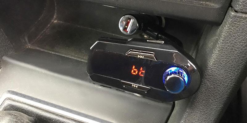 Review of VicTsing Bluetooth Handsfree FM Transmitter