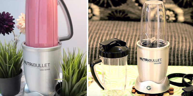 Review of Nutribullet 1200 Series Smart Technology High Speed Blender