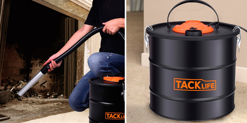 Review of TACKLIFE Ash Vacuum 800W Ash Vacuum Cleaner - Powerful Ash Suction and Blowing
