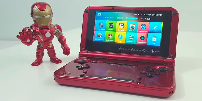 Review of droidbox PlayOn Android Handheld Game Console