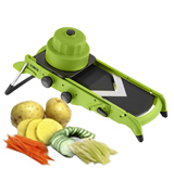 Tower T80413 All-in-One Mandoline Slicer, Green and Grey