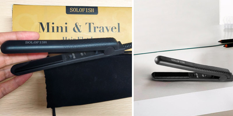 Review of Solofish Mini Hair Straightener Ceramic Flat Iron Hair Straightener and Curler