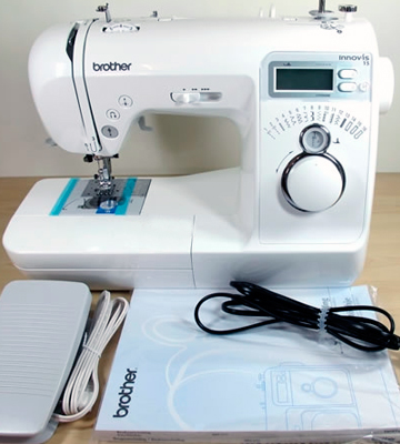Review of Brother NV15 Innovis Electronic Sewing Machine