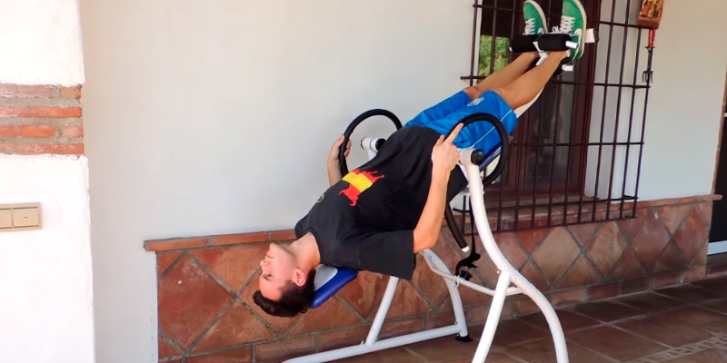 Review of Klarfit Relax Zone Pro Black/Orange Steel Frame Max Load 150kg