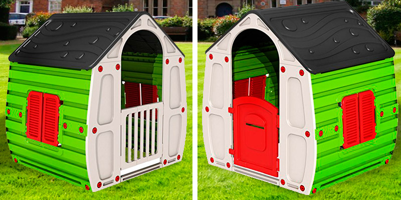 Starplast CLASSIC Playhouse in the use