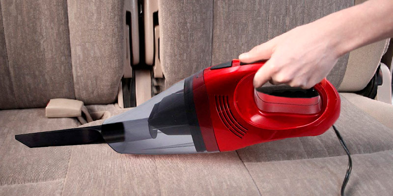 Trehai TAI-YT01 Car Mini Vacuum in the use