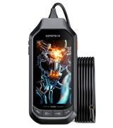 DEPSTECH (DS450) Inspection Camera with 5M Borescope Camera (1944P IPS Display, 3300 mAh)