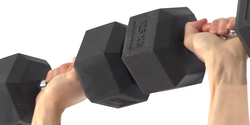 Detailed review of TNP Products Rubber Hexa Hex Dumbbells