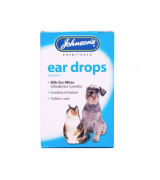 Johnsons Veterinary Products natural pyrethrum Ear Drops