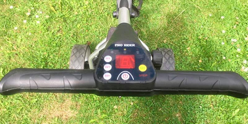 Pro Rider PR1192 Electric Golf Trolley in the use