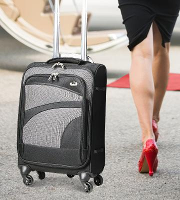 Review of Aerolite AERO9925 Suitcase 3 Piece Set