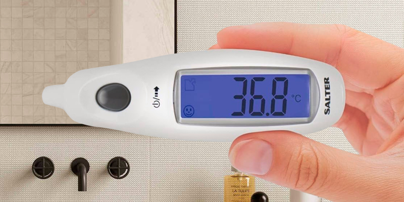 Review of Salter Digital Medical Ear Thermometer with Jumbo Display